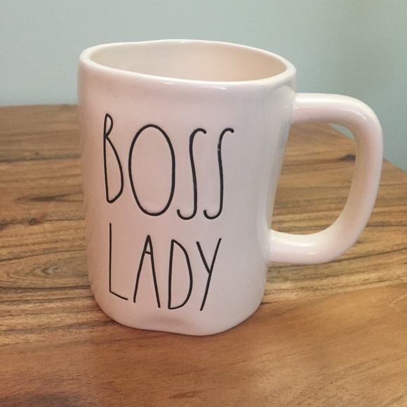 New Rae Dunn Boss Lady Mug Nwt